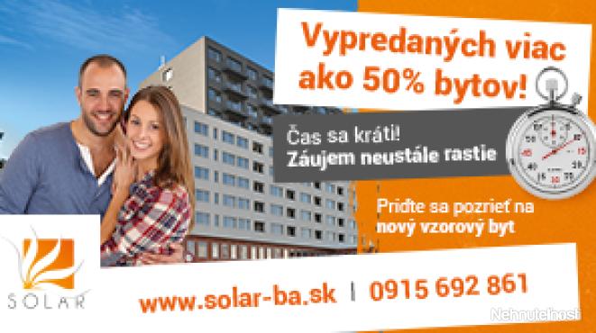 TVOJ BYT + TVOJE PRAVIDLÁ = SOLAR