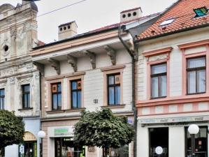 Meštiansky dom v centre Prešova