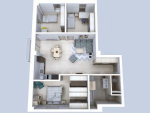 4 izbový byt č.202 - Rezidencia Komenského