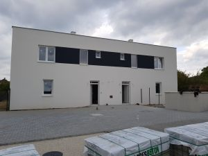 Predaj SKOLAUDOVANÝCH 4i bytov v dvoj a troj domoch v Záhorskej Bystrici s vlastným pozemkom Novostavba Bratislava IV - Záhorská Bystrica