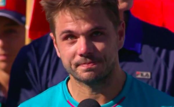 Video: Wawrinka zahriakol Federera: Je to kretén