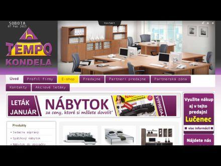 www.tempo-kondela.sk