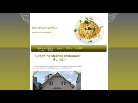 www.restaurantgurman.sk