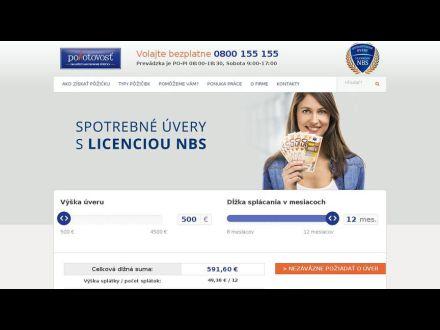 www.pohotovost.sk