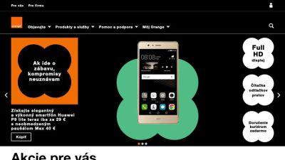 www.orange.sk