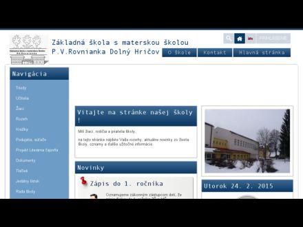 www.zsdhricov.sk