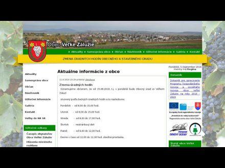 www.velkezaluzie.sk