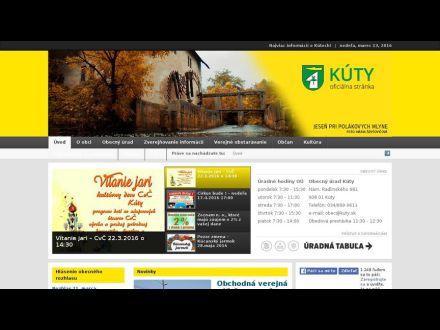 www.kuty.sk