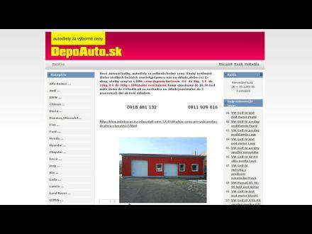 www.depoauto.sk