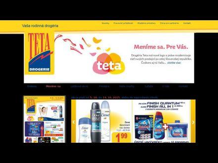 www.tetadrogerie.sk