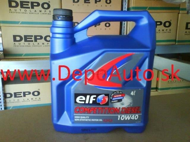 Elf Competition Diesel 10W-40 4L
