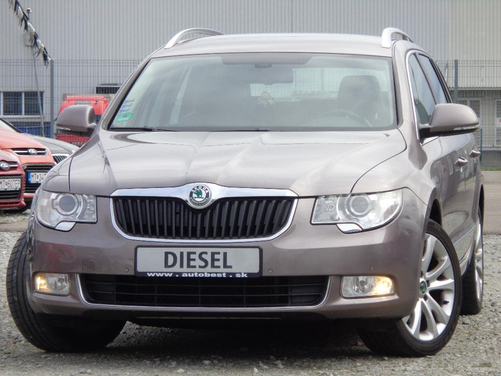 Škoda Superb Combi 2.0 TDI CR 170k Ambition