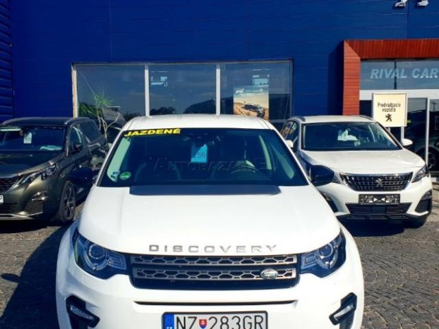 Land Rover Discovery Sport 2.0L TD4 SE AT