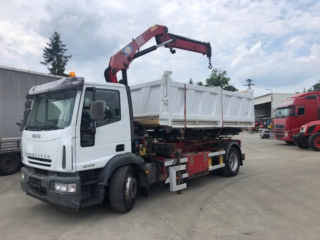 Iveco lanovy ,hakovy nosic IVECO 18E280 s hydr