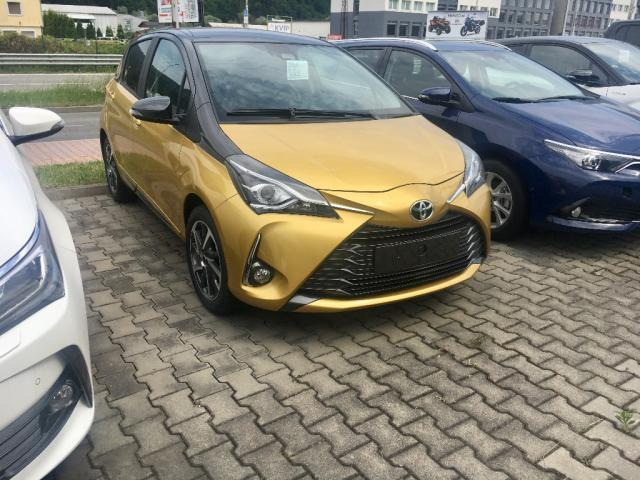 Toyota Yaris 1.5 VVT-iE First Edition Gold, 82kW, M6, 5d.