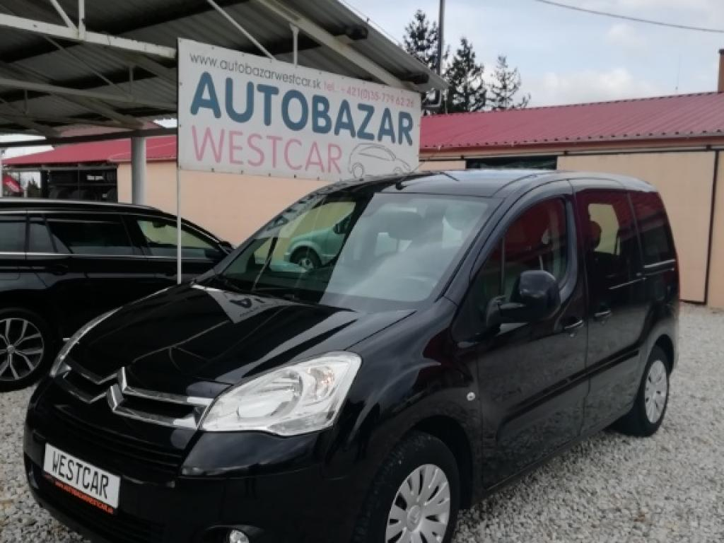 Citroën Berlingo 1.6 HDi 16V 92k Multispace, 66kW, M5, 5d.