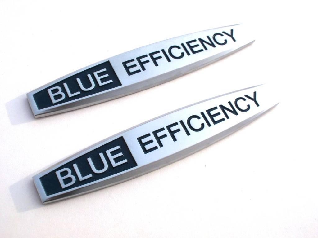znaky Blue Efficiency na Mercedes (2ks)