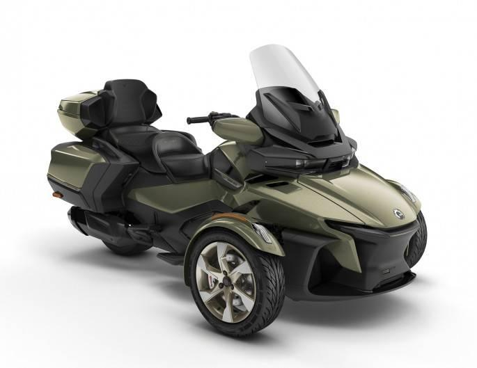 Can-Am SPYDER RT SEA-TO-SKY