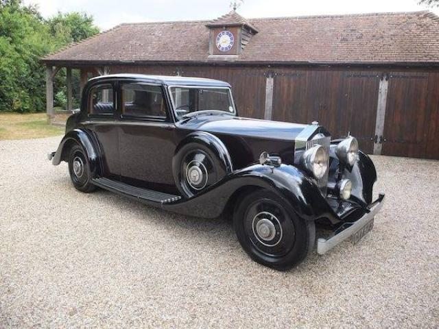 Rolls Royce 1936   25/30 Sports Saloon