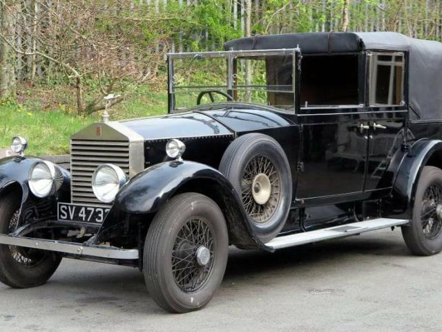 Rolls Royce 1927   20HP Three Position Barker