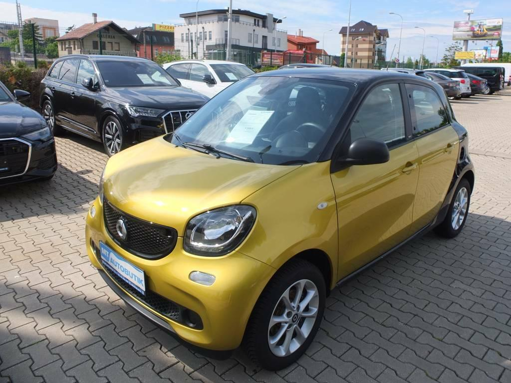 Smart Forfour coup