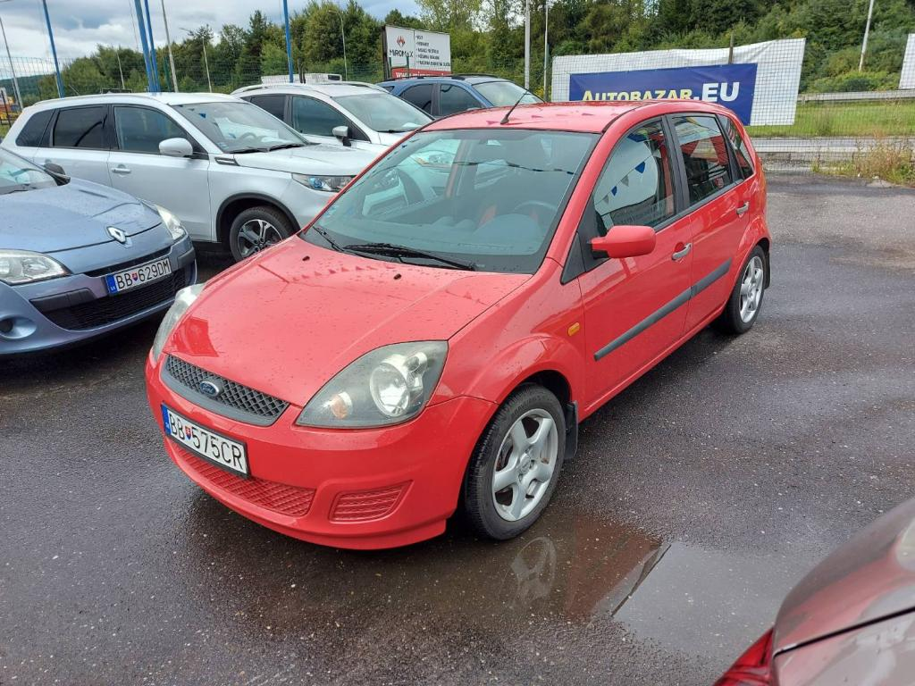 Ford Fiesta 1.25i Duratec Family
