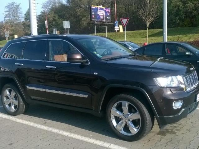 Jeep Grand Cherokee   3.6L Pentastar V6 Overland, 210kW, A5, 5d.