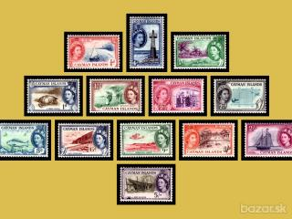 Cayman Islands**/* 1953-62 QE II.