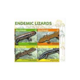 Philippines Endemic Lizards