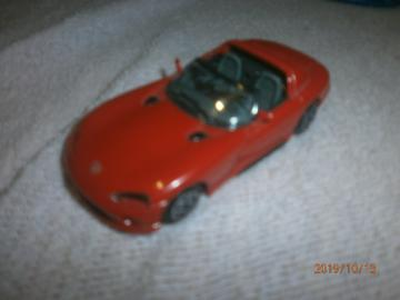 VIPER RT 10 DODGE MODEL BURAGO 1:43
