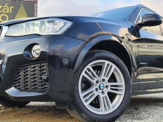 BMW X3 ⭐x-Drive ⭐M-PACKET⭐2,0d 140kW⭐AT+F1⭐Bi-Xenóny+Led⭐Garancia KM⭐Overené⭐