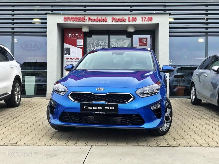 KIA CEED SW 1,6 CRDi A7 DCT PLATINUM SAFETY+TECH PACK+DAB+UVO