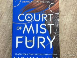 kniha A court of mist and fury