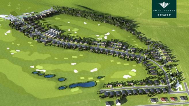 ROYAL VALLEY RESORT - štýlové rodinné domy a stavebné pozemky v golfovom rezorte