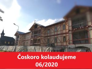Vila Kollár - apartmánový dom pred kolaudáciou
