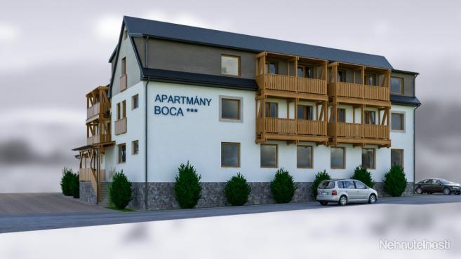 Apartmány Boca