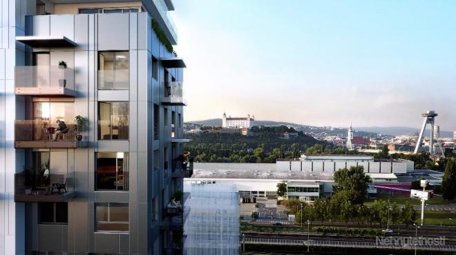EINPARK - 3-izbový apartmánový byt B31, 70m2, balkón