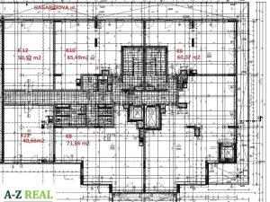 kancelárske priestory Gagarinova ul., novostavba 40m2 - 290m2