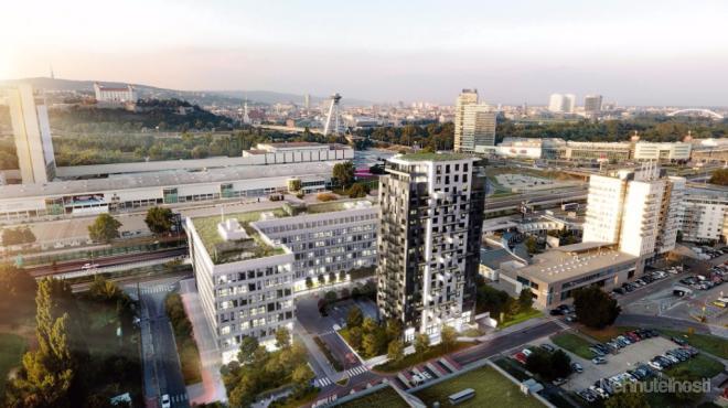 EINPARK - 1-izbový byt B62, 31 m2, balkón