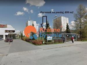 Na predaj komerčný pozemok Turčianske Teplice centrum