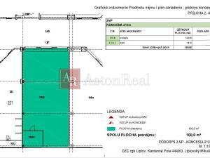 Exkluzívny komerčný priestor na prenájom v Liptovskom Mikuláši (160m2)