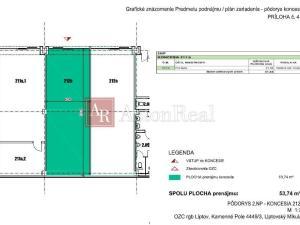 Exkluzívny komerčný priestor na prenájom v Liptovskom Mikuláši (54m2)