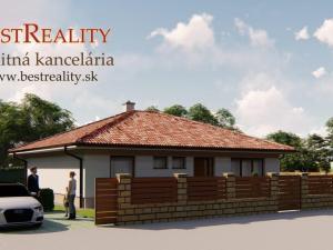 4 izbový rodinný dom na predaj NOVOSTAVBA 128 m2, 10 km od Bratislavy www.bestreality.sk