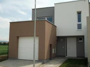 NOVOSTAVBA - Predaj 4-izb. radového rodinného domu s garážou, 126 m2, Leopoldov