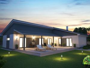 Ponúkame na predaj výstavbu nízkoenergetického montovaného rodinného dom