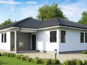 Ideálny  4 izbový / 90m2 murovaný bungalov v Moste pri Bratislave + 600m2