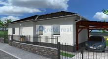 Areté real, Predaj novostavby 4-izbového rodinného domu s 363m2 pozemkom v krásnom, tichom prostredí