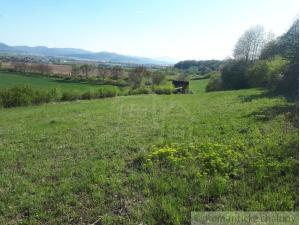 Veľký pozemok s nádherným výhľadom nad obcou Borčice na Považí na predaj