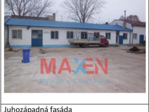Predaj: *MAXEN*, BUDOVA - Administratívny a výrobno-skladový objekt, 493 m2, TRNAVA