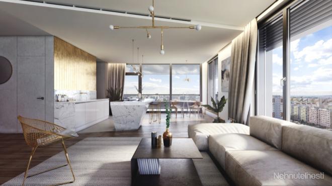 EINPARK - Exkluzívny 4-izbový byt B172 s terasou, výhľad na celú Bratislavu